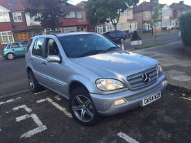 2004 MERCEDES-BENZ M CLASS2.7 ML270 CDI 5D AUTO,Full Service history,Leathers,Hpi Clear,1 Owner£2995
