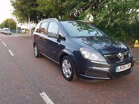2008 Vauxhall Zafira 1.6 Breeze 5dr, 7 Seats, Full Service History
