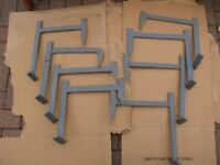 Roof Irons (x8) 1 board (x4) 2 boards (x4) 3 boards