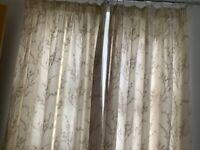 2 pairs Laura Ashley curtains