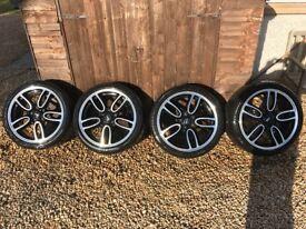 "Mini 19"" JCW alloy wheels"