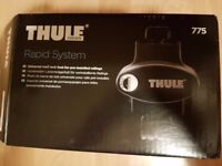 Thule 775 roof bar feet boxed as new