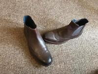 Jones Bootmaker - Floyd Brown Leather boots size 10