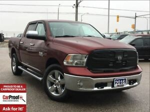 2016 Ram 1500 BIG HORN 4X4 CREW CAB**3.0L DIESEL**HEATED SEATS**