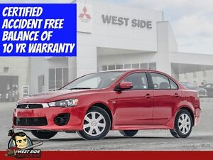 "2016 Mitsubishi Lancer ES–Accident Free–""Only-$56/Week-Zero Down"