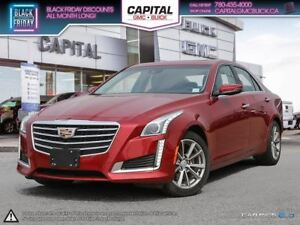 2017 Cadillac CTS LUXURY AWD DRIVER AWARENESS PKG REMOTE START N