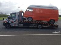 VEHICLE RECOVERY SERVICE VEHICLE COLLECTION DELIVERY TRANSPORTATION LOCAL AND NATIONAL FROM £30