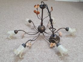 antique style ceiling light fitting
