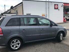Vauxhall Zafira Design 1.8l 16V 7 seater