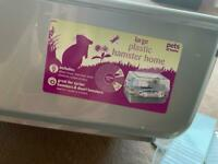 Pets at Home Plastic Syrian and Dwarf Hamster Cage Large