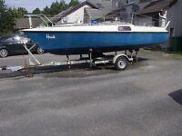 Sailing boat on trailer, ETAP 20, ultimate small cruiser, unsinkable!