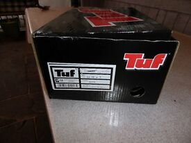 Tuf safety boots size 41 new