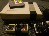 Retro Nintendo NES + Game