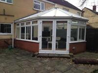 Large conservatory - dismantled and ready for collection