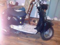 50cc scooter easy fix long mot