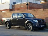 Nissan Navara DCI Double Cab (D40) + 2006/06 + AVENTURA SPEC + BLACK + FSH + NEW SHAPE + MANUAL +
