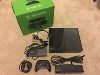 Xbox one 500GB boxed with kinect sensor and controller