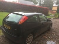 2003 Ford Focus 3 door with mark 6 fiesta alloys