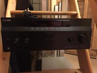 Sony AV Receiver and surround sound speakers