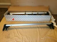 Volkswagen Golf Mk 5 Mk 6 genuine aluminium roof bars