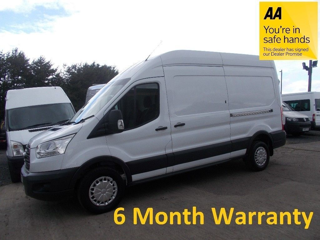 8270810ca9fb08 Ford Transit Trend 350 RWD 2.2 TDCi 125 LWB H Roof   Lease Co Direct   MOT  until MAY 2019   F S H