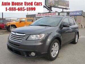 2009 Subaru Tribeca LIMITED,DVD,7 passenger,leather,sunroof