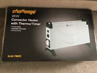 Brandnew Convector heat with timer.