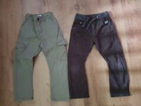 Boys Trousers Age 7 Years