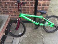 Raleigh BMX bike