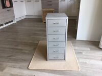 IKEA Filing Cabinet - Grey Metal - Very Good Condition - £15