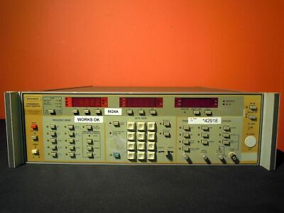 Wiltron 6624a Opts 019n 4 To 8 Ghz Programmable Sweep Generator Tested