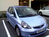 Honda, JAZZ, Hatchback, 2003, Manual, 1339 (cc), 5 doors Ice Blue metallic