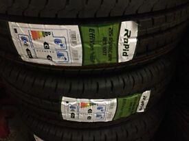 Pair of Brand New Tyres 215/65R16C Van