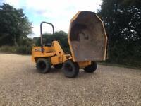 Thwaites 4 ton swivel dumper 4x4