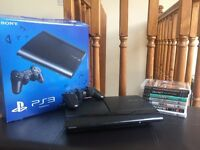 PlayStation3 with 7 Games!