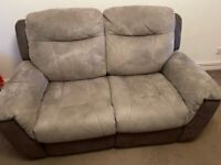 DFS Ryder Electric Recliner - 2 Seater