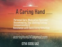 I am looking for home care work please see my advert