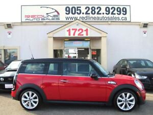2013 MINI Cooper Clubman S, Turbo, Leather, Sunroof, WE APPROVE