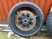 Hayabusa wheels