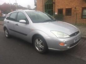 FORD FOCUS 1.8 ZETEC LOW MILES 65000 12 MONTHS MOT CLUTCH SLIPPING DRIVE AWAY