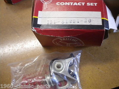 NOS YAMAHA CONTACT BREAKER POINTS YL2C YL2 YG5T R5 YDS7 RD250 RD350 131-81221-20