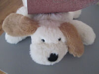 BRAND NEW - FROM CLAIRE'S ACCESSORIES - HOTTIE Bouilloffe Peluche - CUTE DOG - MICROWAVEABLE POUCH