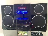 JVC CD player with radio & iPhone 3 dock