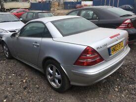 For sale Mercedes 230slk.
