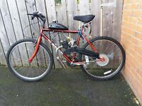 Petrol pushbike 2 stroke offers or swaps