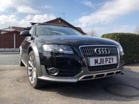A4 All Road 2.0 TDi CR Quattro 5dr with added THULE Wing Bars and Roof Box
