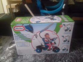 Baby trike sports edition.