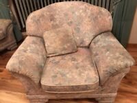 FREE High quality armchair with solid wooden frame great condition