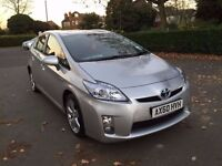 2011 TOYOTA PRIUS VVTI CVT 1 OWNER, 26500 GENUINE MILES IDEAL FOR TAXI £500 DEPOSIT £253 X 48 MONTHS