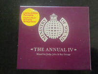 LIMITED EDITION MINISTRY OF SOUND THE ANNUAL IV Mixed by Judge Jules & Boy George